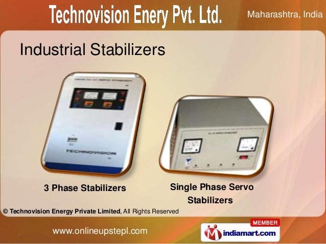 Maharashtra, India     Industrial Stabilizers             3 Phase Stabilizers                       Single Phase Servo    ...