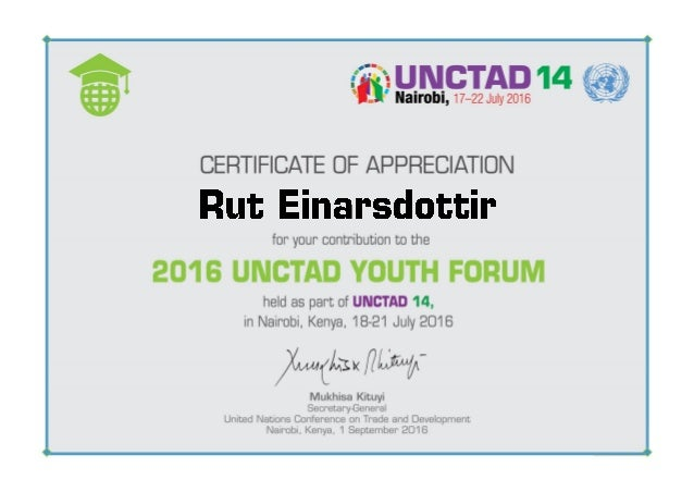 YF Certificate_EINARSDOTTIR