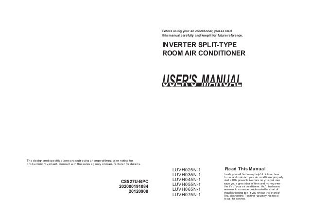 Carrier Air Conditioner Operation And Service Manual