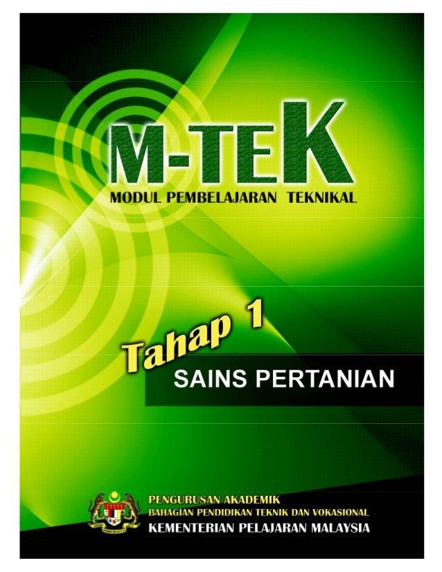 PA_BPTV_KPM M-TEK_SAINS PERTANIAN OPIK 1: