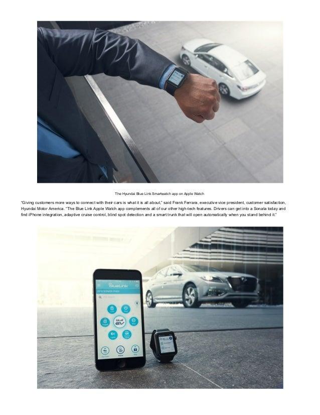 hyundai blue link app for apple watch. Black Bedroom Furniture Sets. Home Design Ideas