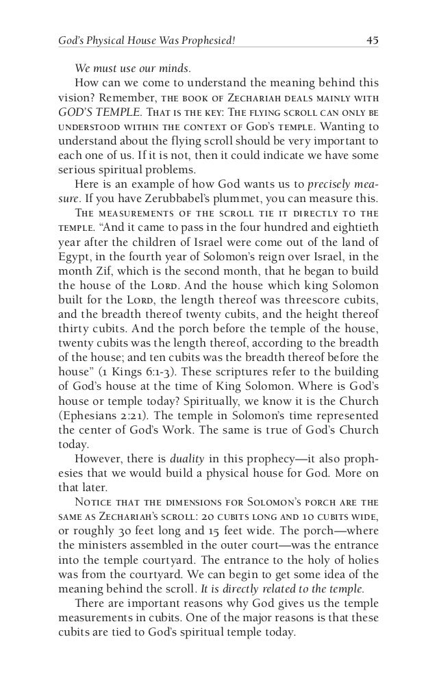 zechariah essay The sections are zechariah 1:8  in zech 1:8 there are four horses, but only three  colours  essay, were seen in visions, why should they not be green.