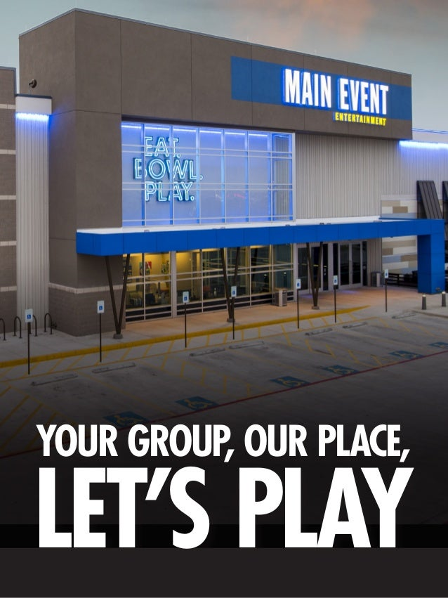 Main Event Corporate and Group Events