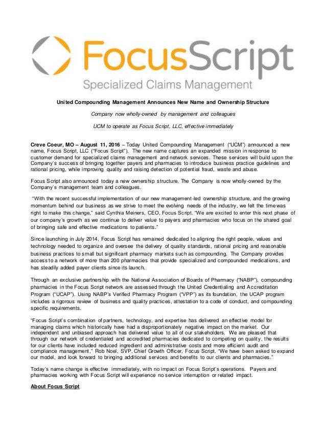 FINAL Focus Script Rebrand Announcement FINAL_8_11_2016