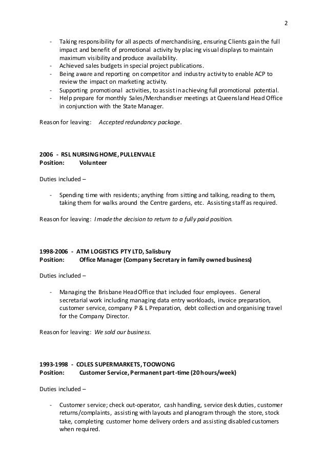 resume reasons for leaving 28 images 3 application