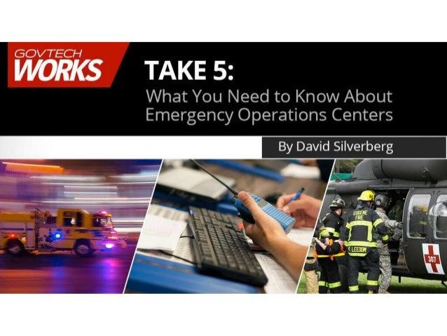 GovTecWorks Emergency Operations Centers 11-5-15