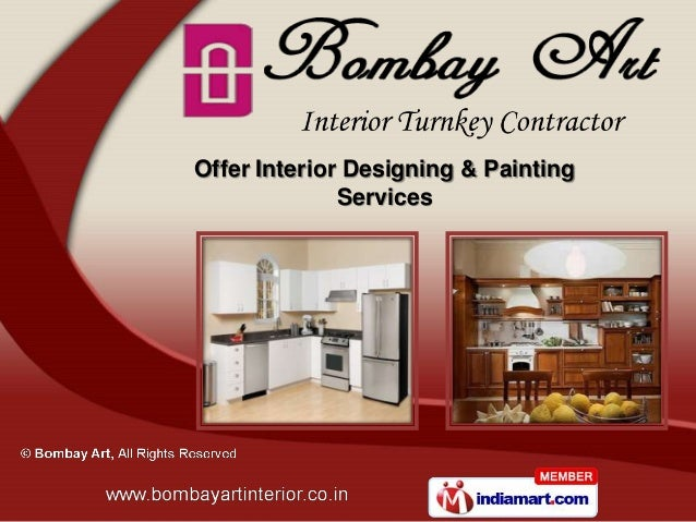 Offer Interior Designing & Painting              Services