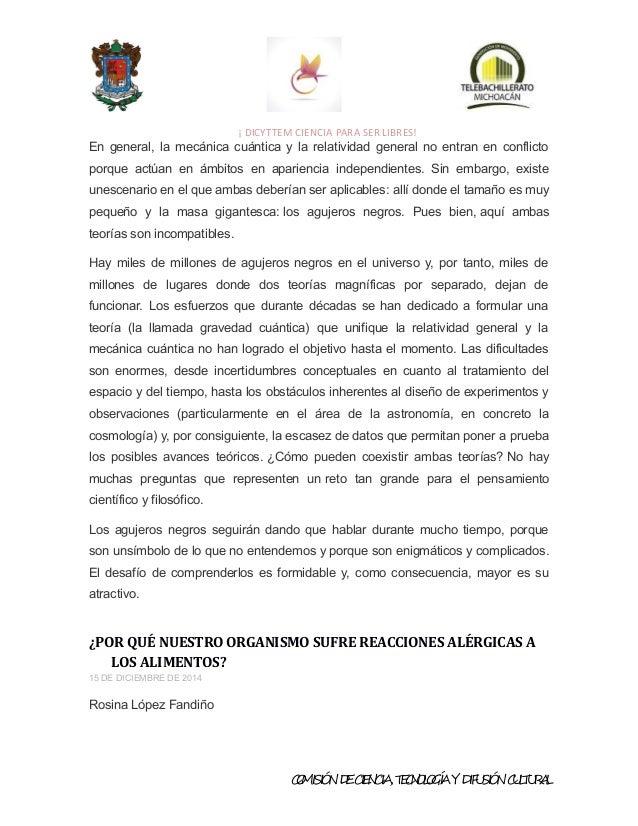 GACETA DE ARTICULOS CIENTIFICOS TEBAM
