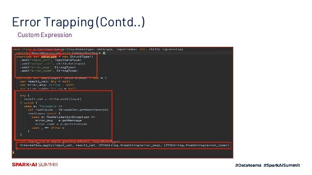 Error Trapping – Example
