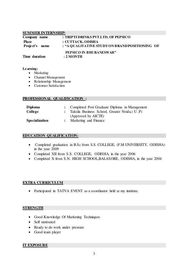 Resume Of Satya ( Pgdm In Marketing With 4.7 Year Experience ) In Ret…