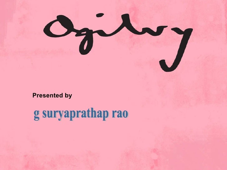 Presented by g suryaprathap rao