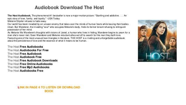 Audiobook Download Online Free The Host