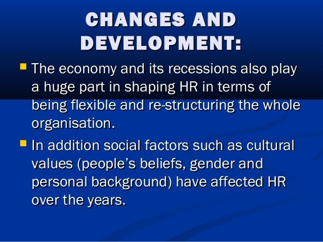 principles of human resource management An effective human resource management strategy is a valuable asset to any   based on d quinn mills' book, principles of human resource management, the .