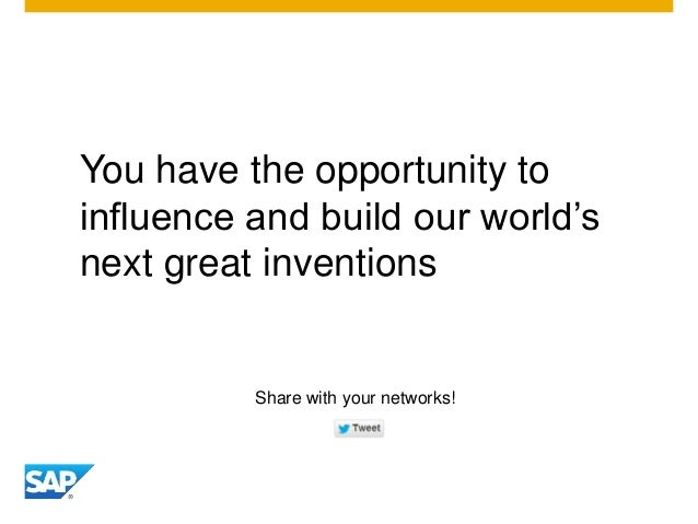 You have the opportunity to influence and build our world's next great inventions Share with your networks!