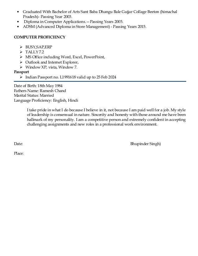 Unique Bh Management Resume Photo - Administrative Officer Cover ...
