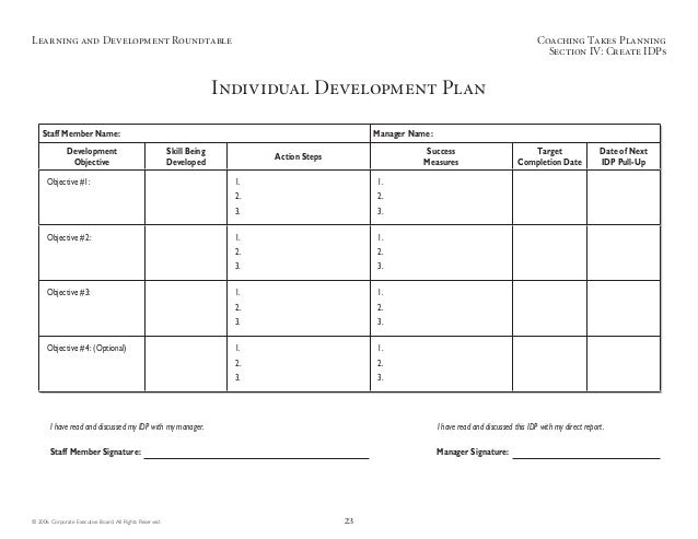 Contemporary Idp Template Sketch - Professional Resume Examples ...