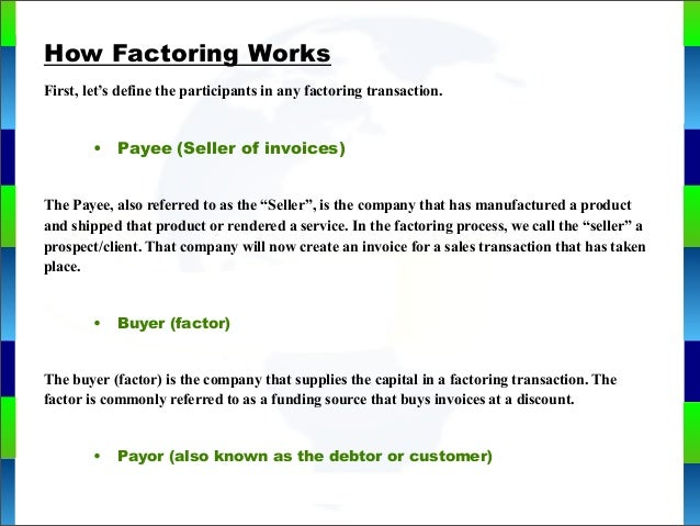 how to profit from factoring 2015