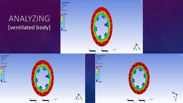 Thermal analysis of disc brake