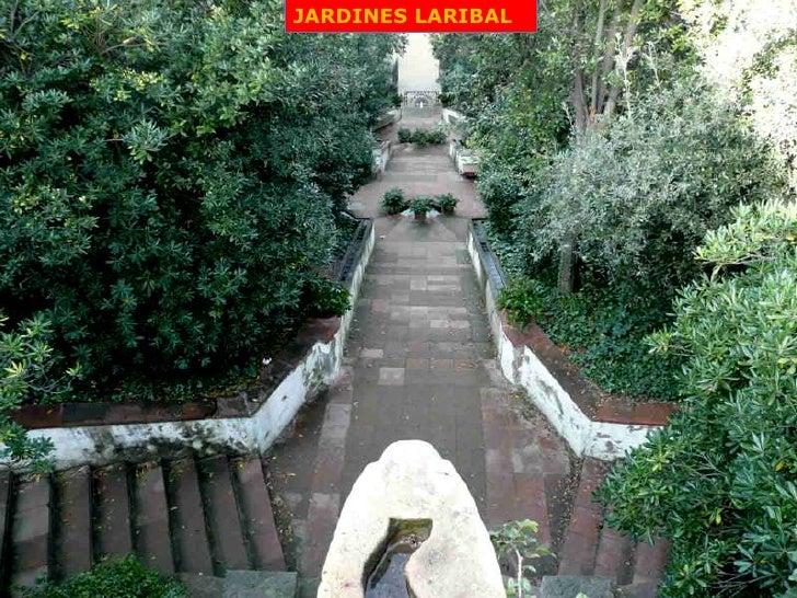 Montju c 2 part barcelona 43 presentaci n for Jardines laribal