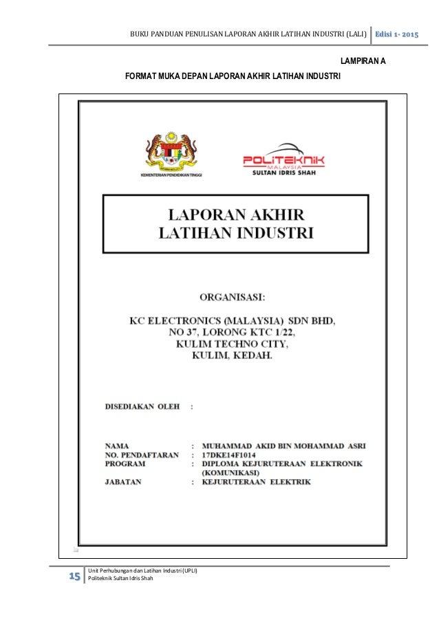 panduan penulisan laporan akhir sesi jun 2015