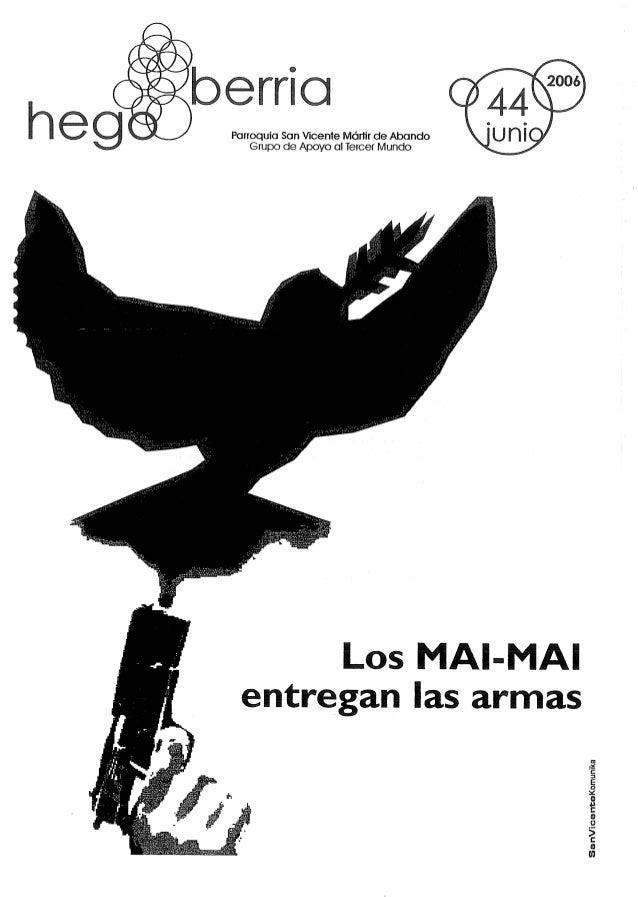 heg  barrio  Parroquia Wcenfe Mónir de Abando Grupo Apoyo al Tercer Mundo       Los MAl-MAI entregan las armas     sanvice...