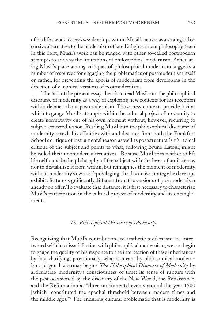 Postmodernism in Literature