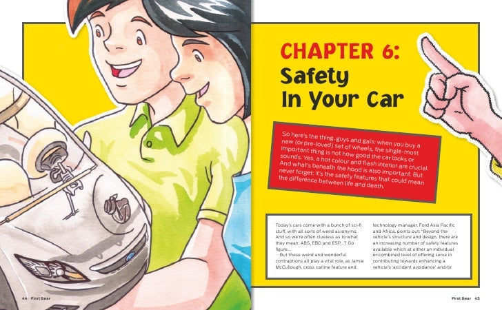 CHAPTER 6:                   Safety                   In Your Car                    So here's the                        ...