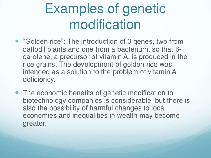 4.4 biotechnology and genetic engineering