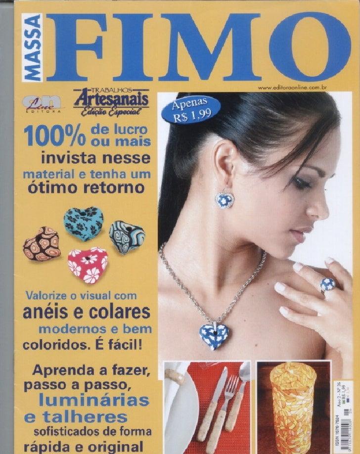 44  (Br) Trabalhos Artesanais Massa Fimo Editora Online