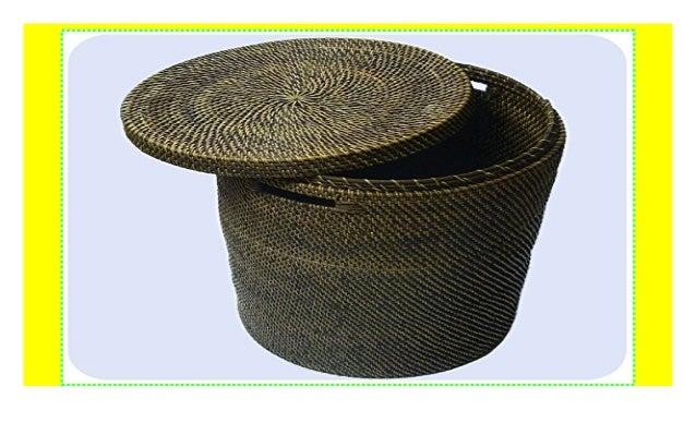 Simandra Wäschekorb Wäschebox Mit Deckel Aus 100 Ata