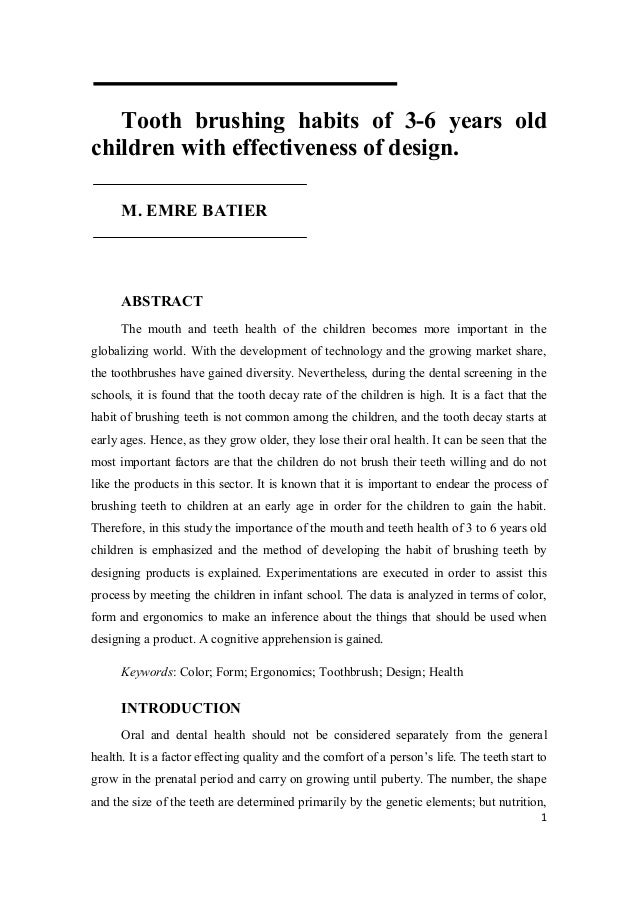 thesis abstract of unobstrusive