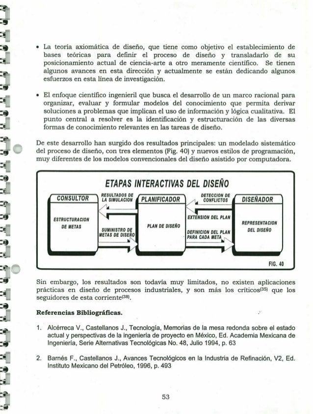 sistematización del diseño de procesos químicos