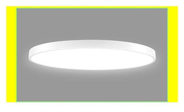 Led Deckenleuchte Badezimmer, 28W Ultraslim Dimmbar LED ...