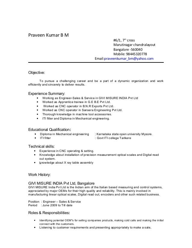 best resume for iti fitter pictures simple resume office