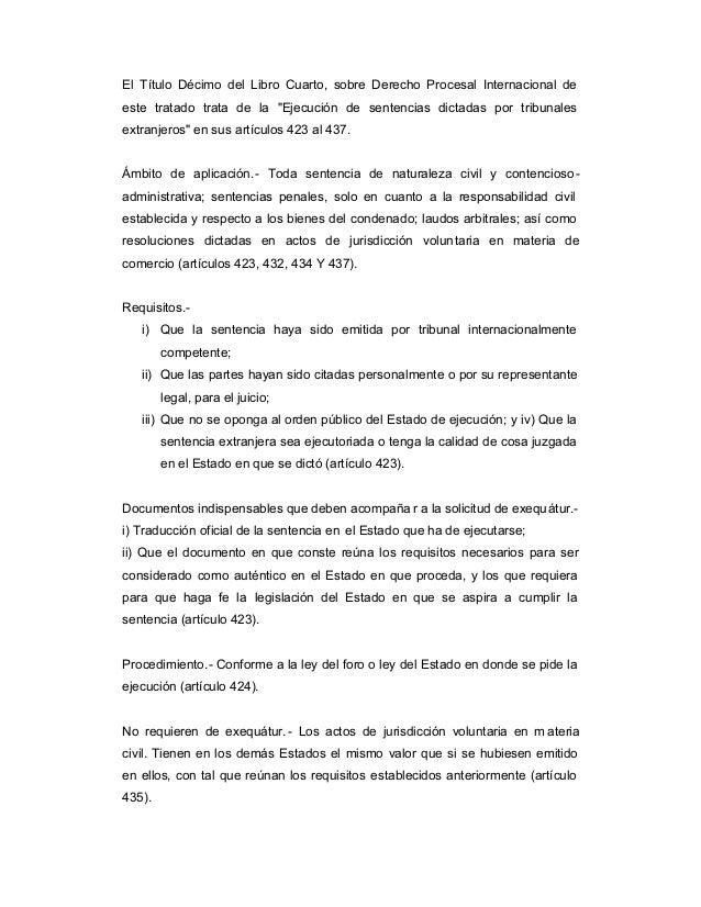 44172909 sentencias extranjeras for Libro cuarto del codigo civil