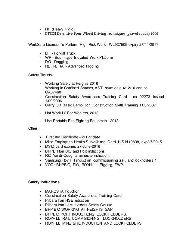 Resume MARK GREY AUG16 Slide 3