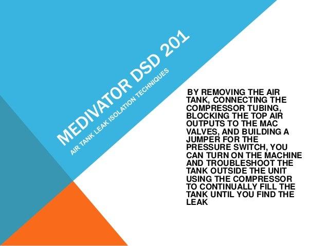 Medivators dsd hook up