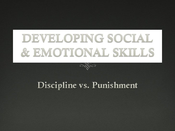 essay punishment vs discipline Some parents do believe that disciplining through physical punishment, which can incorporate spanking, will teach the child a lesson, stopping the bad behavior.