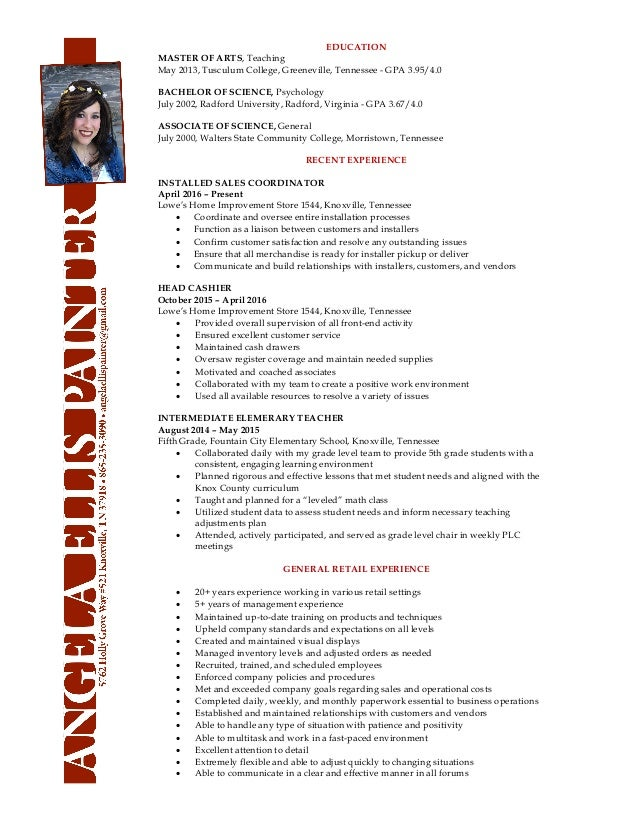 lowes resume 6 21 16