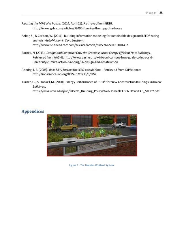 Leed Research Paper