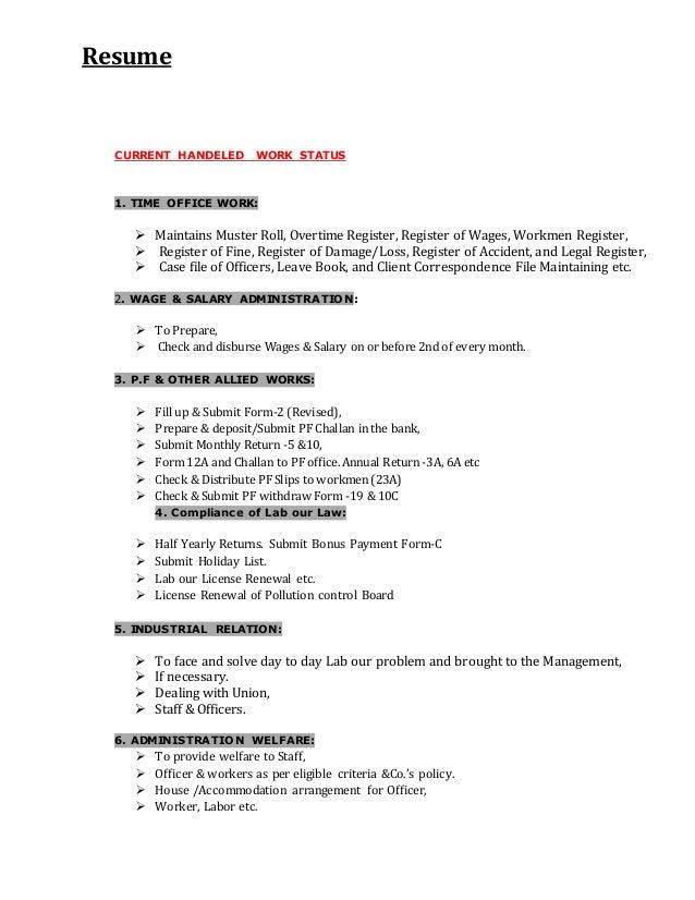 Resume Kamal Nayan 19