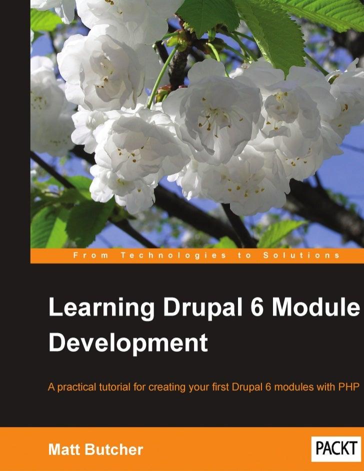 4443 learning-drupal-6-module-development