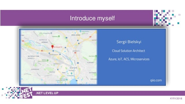 .NET Fest 2018. Сергей Бельский. How to use Docker containers with Azure services for your solution Slide 2