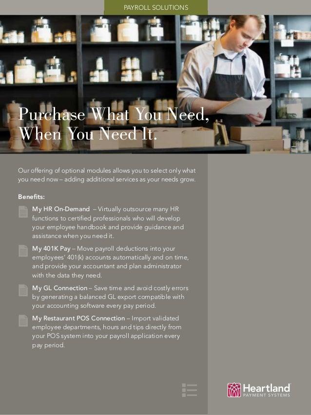 Heartland Payroll Solution - Full Presentation