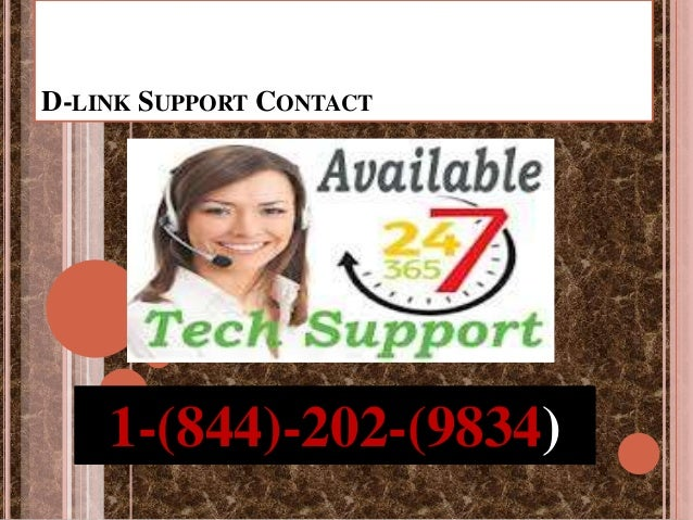 D-LINK SUPPORT CONTACT 1-(844)-202-(9834)