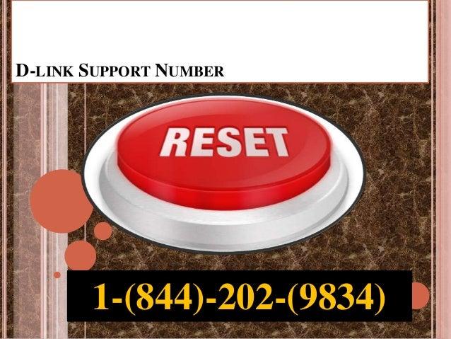 D-LINK SUPPORT NUMBER 1-(844)-202-(9834)