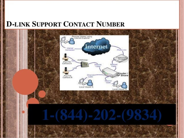D-LINK SUPPORT CONTACT NUMBER 1-(844)-202-(9834)