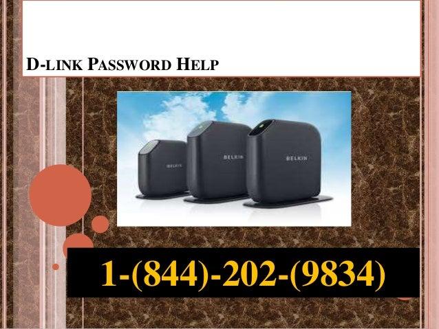 D-LINK PASSWORD HELP 1-(844)-202-(9834)