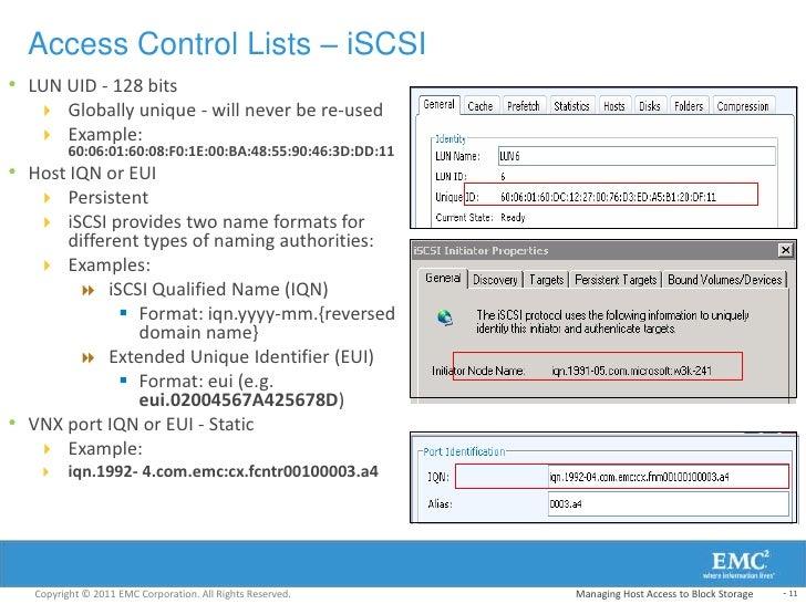 444 vnx unifiedimp m03 managing host access to block storage
