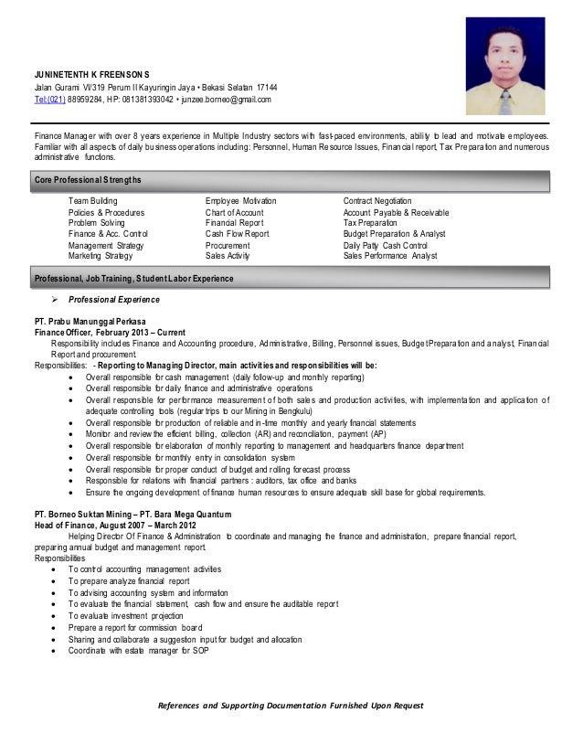 resume jkfs